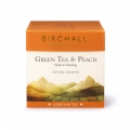 Birchall Green Tea & Peach liściasta 125 g