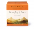 Birchall Green Tea & Peach 20 piramidek