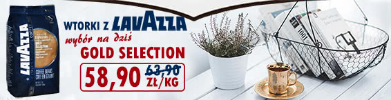 Lavazza Gold Selection -7% maly 58,90