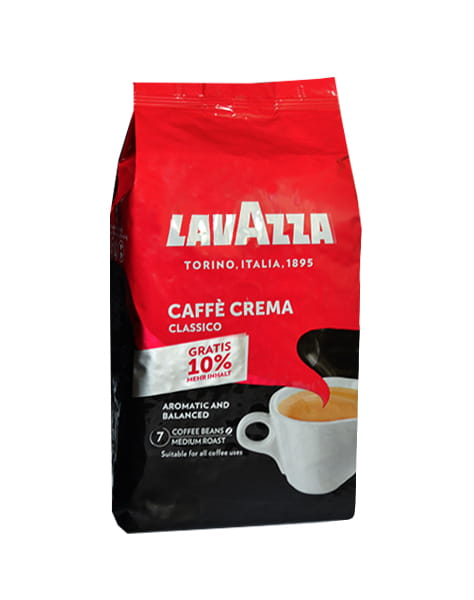 lavazza classico caffe crema 1 kg. Black Bedroom Furniture Sets. Home Design Ideas