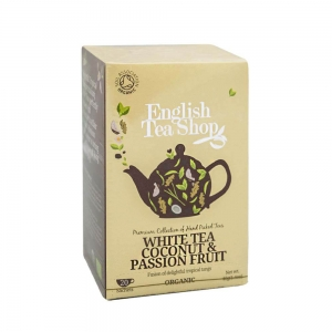 ETS White Tea Coconut & Passion Fruit 20 saszetek