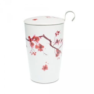 Eigenart kubek z zaparzaczem TeaEve May Lin Cherry 350 ml
